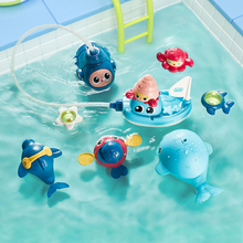 Baby Take A Shower Toys Baby Beneficial Wisdom Water Toys Suit Men And Women Children Water Spray 0-1-3 Year