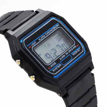 Hot luxury brand design LED Watch Fashion Multifunction Life Waterproof Watch For Men Cheap Electronic Digital watches relojes