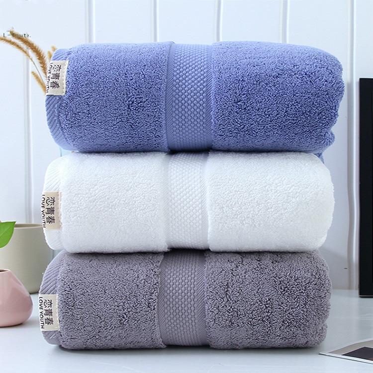 450 gramas de algodão casa homestay de banho toalhas de banho toalhas de banho branca do hotel algodão dos homens e das mulheres de banho toalhas