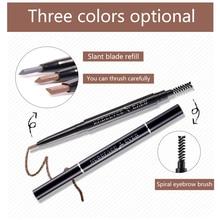 Women Makeup Eyebrow Pencil microblading cosmetics beauty make up Pen Liner Long Lasting Waterproof Eye Brow Tattoo Brown Pencil