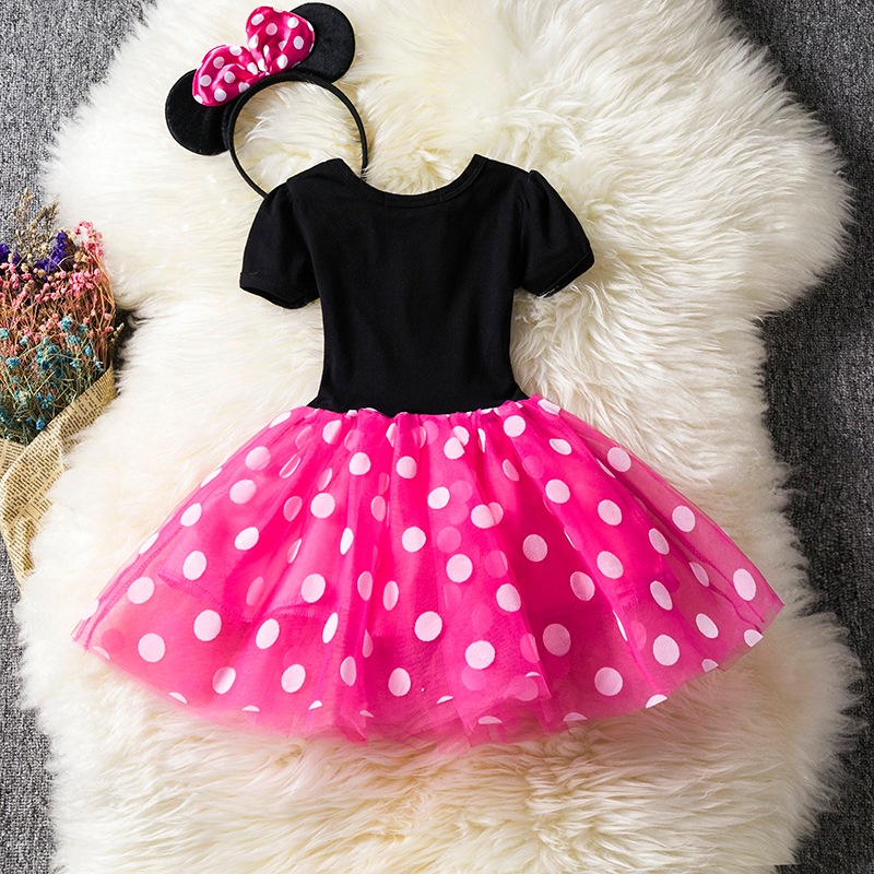 H0b9ea04117e1468ea2b129f97a5c04c1g Lace Little Princess Dresses Summer Solid Sleeveless Tulle Tutu Dresses For Girls 2 3 4 5 6 Years Clothes Party Pageant Vestidos