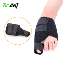 2PCS Bunion Toe Correction Hallux Valgus Braces Separator Splint Adjust Thumb Big Bone Corrector Orthotics Foot Care Pain Relief foot hallux valgus correct correction big toe bunion separator corrector orthotics toe separator bandage cover cocks bunion pads