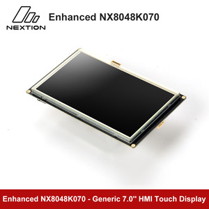 Image 4 - Nextion強化NX8048K070 7.0 hmiタッチディスプレイusart tft液晶モジュール抵抗タッチttl/5表示