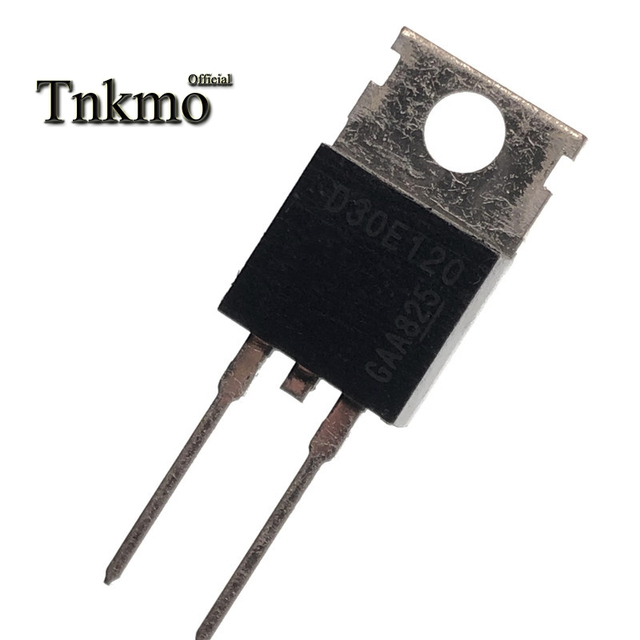 10PCS IDP30E120 TO 220 2 D30E120 TO2202 30A 1200V Fast Switching Diode free delivery
