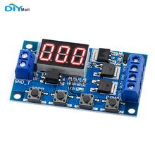 цена на Trigger Cycle Timing Control Module Dual MOS Tube Control Board Replace Relay Module LED Digital Time Delay DC 12V 24V