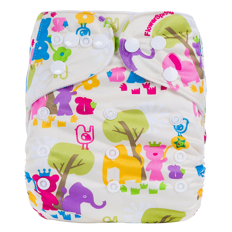 Wholesale Baby Diapers All In One Reusable Clothing Diapers Nappy Babies Nappy Reusable Bamboo Nappies R10