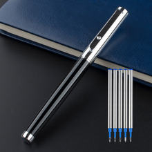 Шариковая ручка jinhao с металлическим зажимом роскошная наконечником