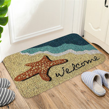 Best Selling Products Rectangle Non-Slip Door Mat Bedroom Kitchen Entrance Print Floor Mat Doormats sSupport Dropshipping #F5 2018 best selling products infrared heating mat tourmaline health products full body heat sleep mat with free gift eye cover