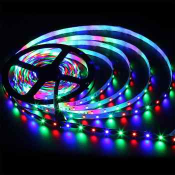 LED Strip Lights Flexible Waterproof Tape Light Kit With 44 Buttons Remote Controller For Christmas Decoration