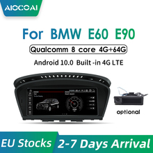 Multimedia-Player Navigation Series Auto-Radio Android 10.0 E90 E60 E61 BMW Car 4G