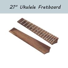 """21 """"우쿨렐레 지판 15 프렛 로즈 우드 우쿨렐레 Fretboard 소프라노 우쿨렐레 하와이 기타"""