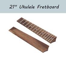 """21 """"Ukulele klavye 15 Frets gülağacı Ukulele klavye için Soprano Ukulele Hawaii gitar"""