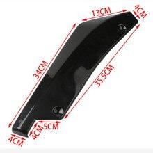 Car Rear Bumper Lip Diffuser Splitter Spoiler Accessories For BMW E81 E87 F20 F21 E88