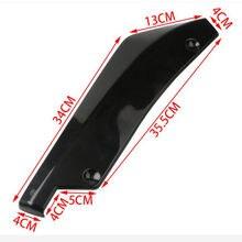 Accessori Spoiler Splitter diffusore labbro paraurti posteriore auto per GEELY BO RUI BL coupé BO YUE DI HAO CK EMGRAND GS GC2 GC5 GC6
