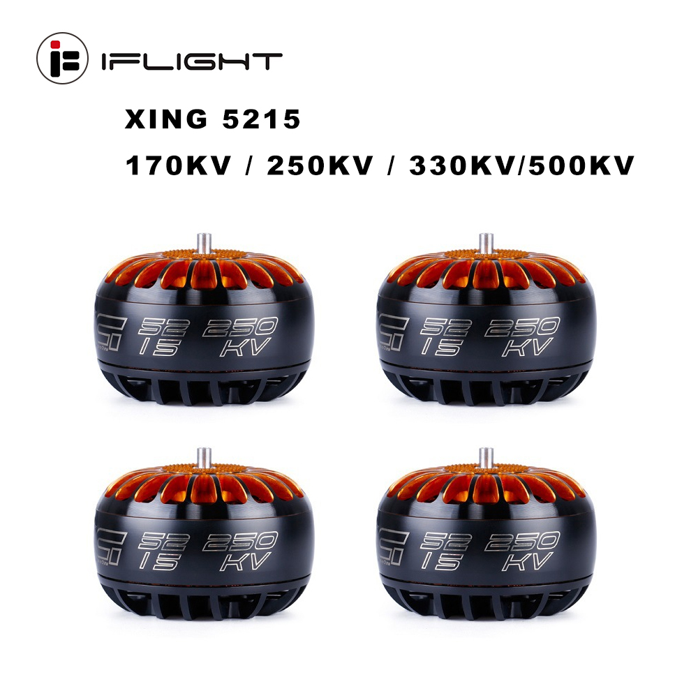 iFlight XING 5215 <font><b>170KV</b></font> / 250KV / 330KV / 500KV 6S Brushless <font><b>Motor</b></font> for X-Class RC Drone FPV Racing Spare Parts Accessories image