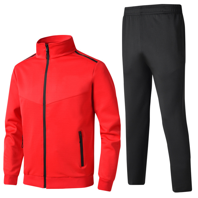 Men's Sportswear Sets 2019 Spring Autumn Male Casual Tracksuit Men 2 Piece Sweatshirt + Sweatpants Set High Quality