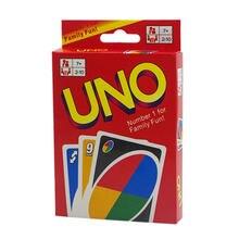 Kartı oyunları UNO Kartenspiel rahat ev eğlence UNO kurulu oyun kartı oyun parti oyuncakları