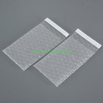 100 PCS 2.5 x 3+0.8 (65 x 80+20mm) Self Seal Clear Bubble Bags Small Size Plastic Packing Envelopes Mini Poly Roll Pouches 500 pieces 2 5 x 3 65 x 75mm clear bubble bags small size plastic packing envelopes poly pouches mini package roll pack bag