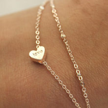 2019 ankle bracelet heart beach barefoot foot jewelry leg chain anklets women accessories summer jewellery fashion gifts boho(China)