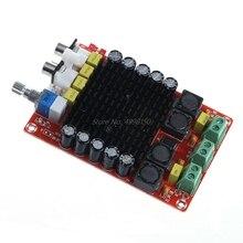 تيار مستمر 14 34 فولت TDA7498 الفئة D مكبر كهربائي رقمي مجلس 2x100 واط السيارات carبيع بالجملة دروبشيبينغ