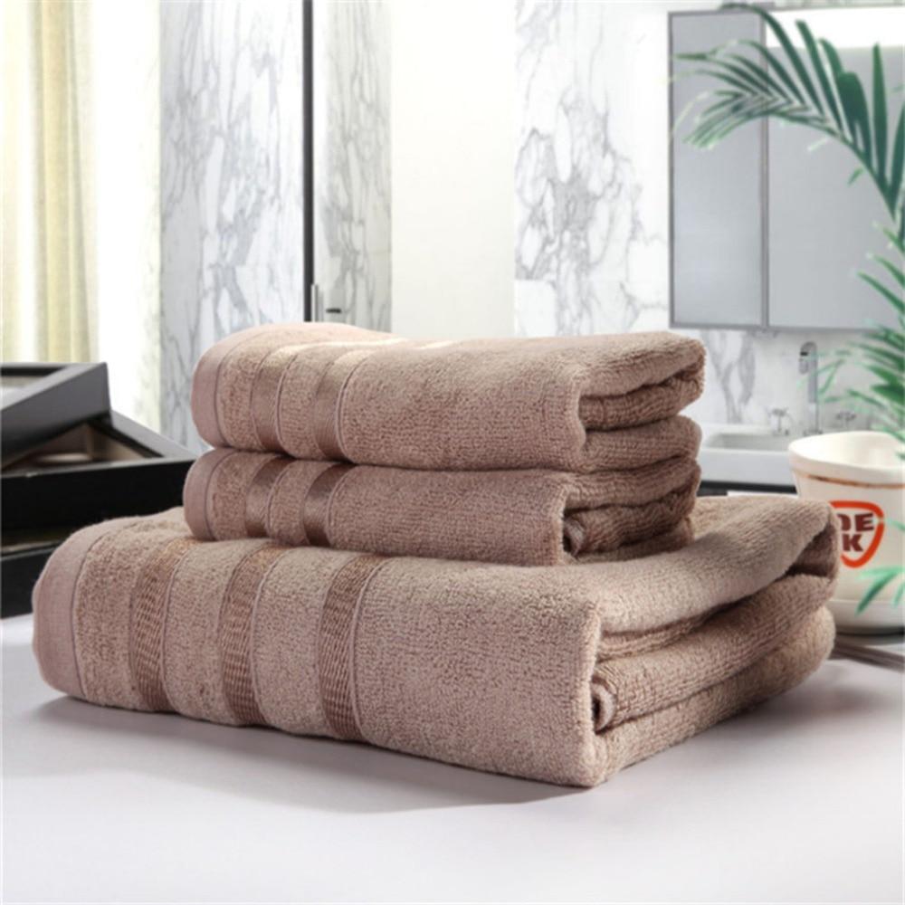 3 шт./компл. бамбуковое волокно Полотенца комплект Для мужчин абсорбент пляжные Ванна Полотенца для мочалки салфетки для бани халаты сплошн...
