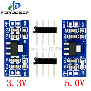 AMS1117 LM1117 SMD DC-DC Step Down Buck Converter Power Supply Module DC-DC 4. 5V-7V to 3. 3V 5. 0V for Arduino bluetooth