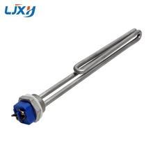 Ljxh 1inch npt ac120v/220 240 v todo o aquecimento tubular da imersão do elemento tubular da baixa densidade do elemento 304 do calefator da cervejeira do aço inoxidável