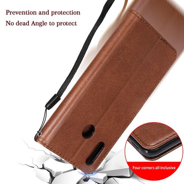 PU Leather Flip Wallet Case For Huawei P40 P30 P20 Pro P10 P9 P8 Lite 2017 P Smart 2019 Y5 Y6 Y7 Prime Y9 2019 2018 Cover Case 2