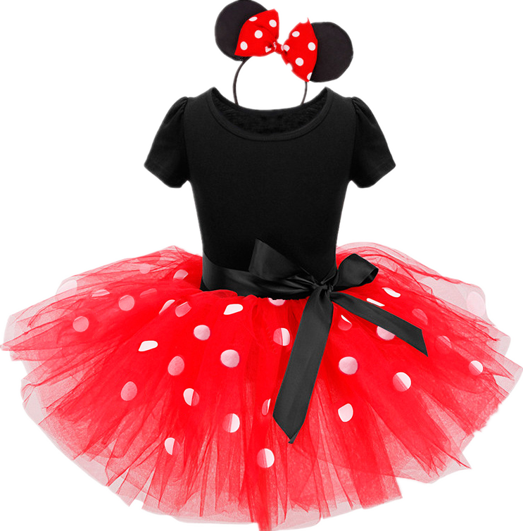 Baby Birthday Dress Girls Christmas Dress Baby Girl New Year Dress Up Clothes Birthday Party Polka Dots Casual Wear Vestidos 11