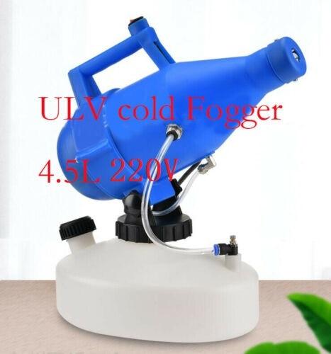 4.5L Portable Electric ULV  Thermal Fogger Machine Disinfection Fogging Machine Sprayer