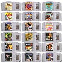64 bits jogo de vídeo cartucho jogos console cartão kirby/colheita lua inglês idioma eua versão para nintendo