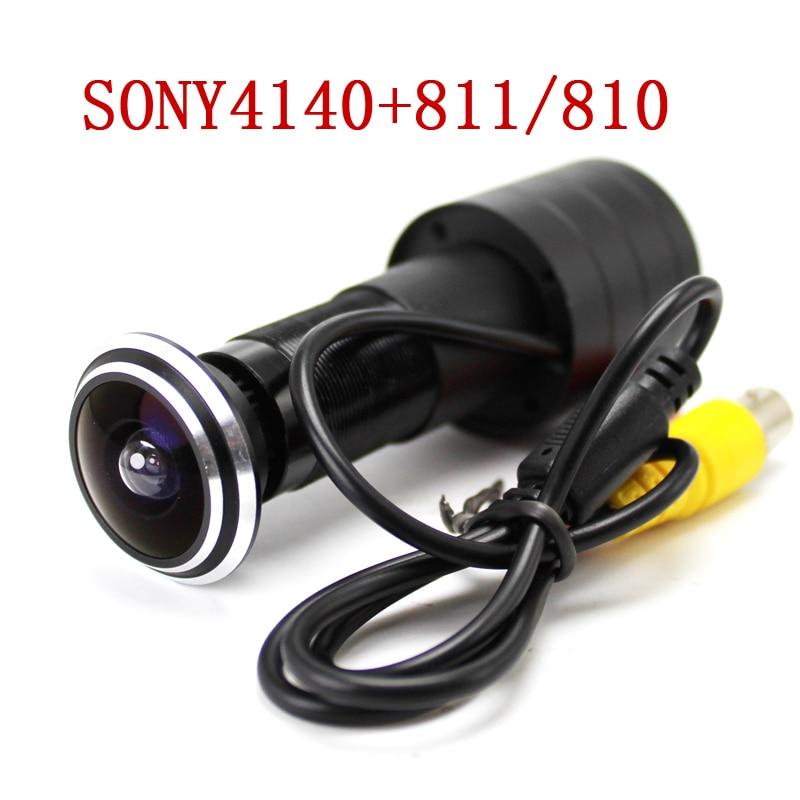 Caméra oeil de porte SONY CCD 700TVL Fisheye   Caméra grand Angle, caméra de sécurité des portes de sécurité à domicile