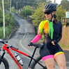 2020 ciclismo skinsuit pro macacão roupas femininas manga longa macacão triathlon bodysuit meninas bicicleta macaco feminino ciclismo terno 11