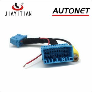 JIAYITIAN Rear view Camera RCA Video Plug Adapter Cable Kit For suzuki SX4 sx 4 hatchback with Factory Monitor Head Unit