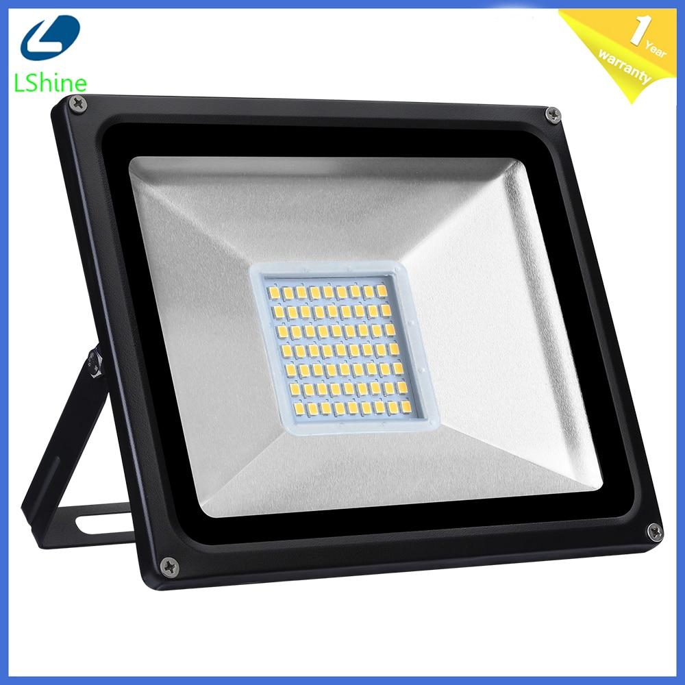 10W 20W 30W DC12V LED FloodLight Reflector LED Flood Light Waterproof IP65 Spotlight Wall Outdoor Lighting Warm White Cold White