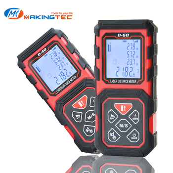 MAKINGTEC Laser Distance Meter Rangrfinder Laser Measure 100m 80m 60m 40m Digital Trena Laser Tape Range Finder Measuring Device