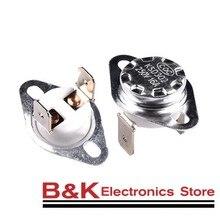 KSD302 16A 250V KSD301 40-130 graus de Cerâmica Termostato Interruptor de Temperatura Normalmente Fechado 45 55 60 65 70 75 80 85