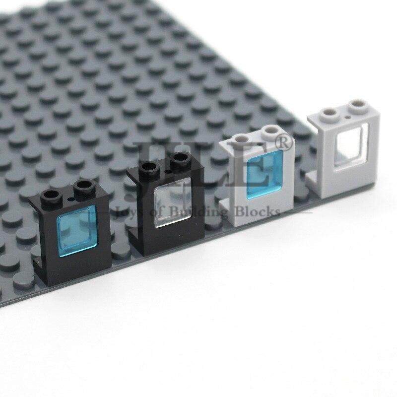 Мпц рекламные окна 1x2x2 самолет с Стекло 2377 4862 DIY просветить строительные блоки Наборы кубиков Совместимость собирает частицы
