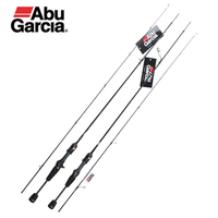 Original Abu Garcia Brand MASS BEAT III  Baitcasting Lure Fishing Rod 1.68m 1.83m 1.98m L/UL Power  Carbon Spinning Fishing Rod