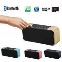 M2018 Wireless Bluetooth Speaker Portable Wireless Subwoofer USB Bluetooth 4.2 Speakers Mp3 TF Stereo Audio Music Player DD CT