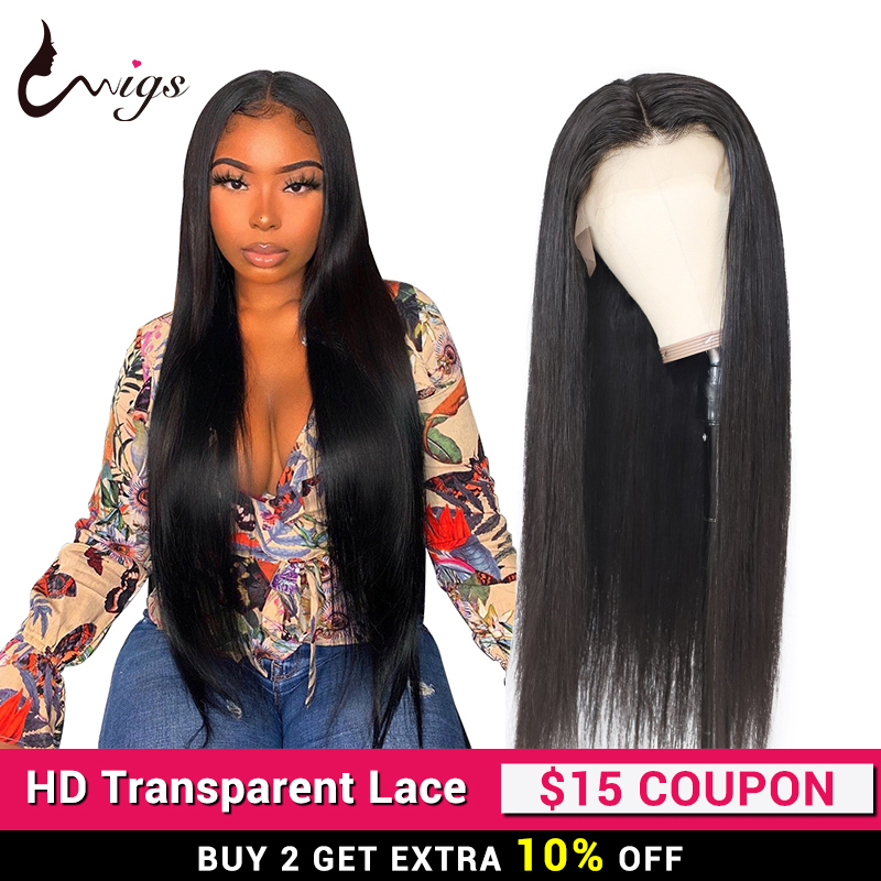 UWigs Straight Lace Front Wig 180 Density Lace Wig Brazilian Lace Front Human Hair Wigs Straight 13x6 Lace Front Wig Remy