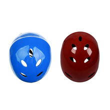 2 Pcs Safety Protector Helmet 11 Breathing Holes for Water Sports Kayak Canoe Surf Paddleboard - Red & Blue цена 2017