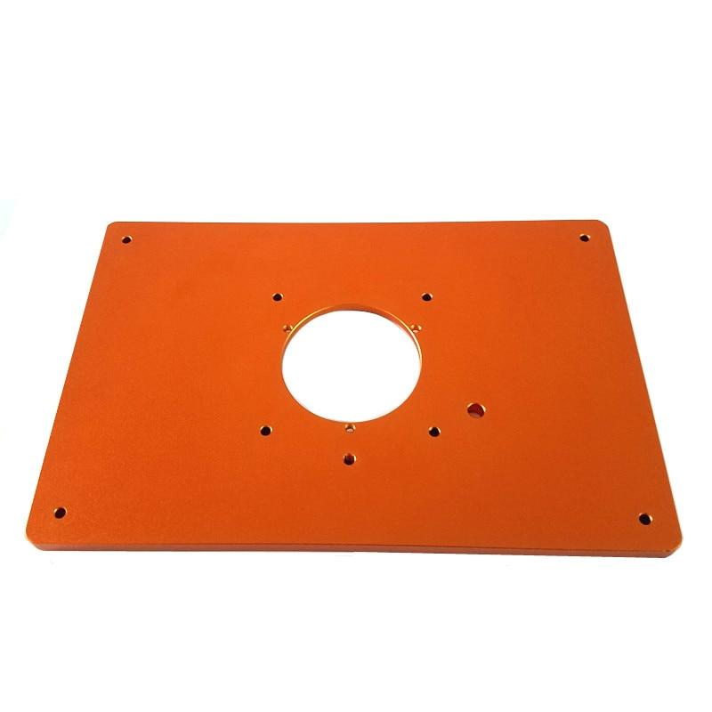 Accesorio para cortar mesa Woodworking Benches Woodworking Tools solo compatible con Bosch GKF550 y Makita RT0700C Placa de aluminio para fresadora Kecheer Placa de router