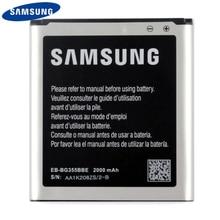 Original Replacement Phone Battery EB-BG355BBE For Samsung GALAXY Core 2 SM-G3556D G355H G355 G3559 G3558 G355M G3586V 2000mAh samsung original replacement battery eb bg355bbe for galaxy core 2 g355h g3558 g3556d g355 g3559 sm g3556d g3589w g3586v 2000mah