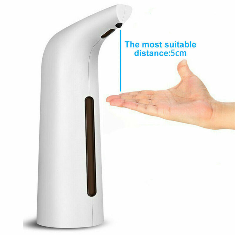 200ML / 400ml Automatic Soap Liquid Dispenser IR Touchless Handsfree Bathroom