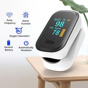 Image 2 - BGMMED רפואי אצבע דופק Oximeter & יד LCD לחץ דם בריאות משפחה נסיעות חבילות