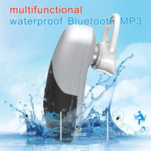 2019 Fashion IPX8 Waterproof Bluetooth 5.0 Swimming mini MP3 Player Sport Headphone Music 8G Memory Diving Running Earphones(China)