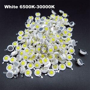 10 stücke 1W 3W 5W High Power LED-Chip Lampe Lampen SMD COB Dioden Warm Kalt Weiß rot Grün Blau Gelb 440 660nm Wachsen Licht Perlen