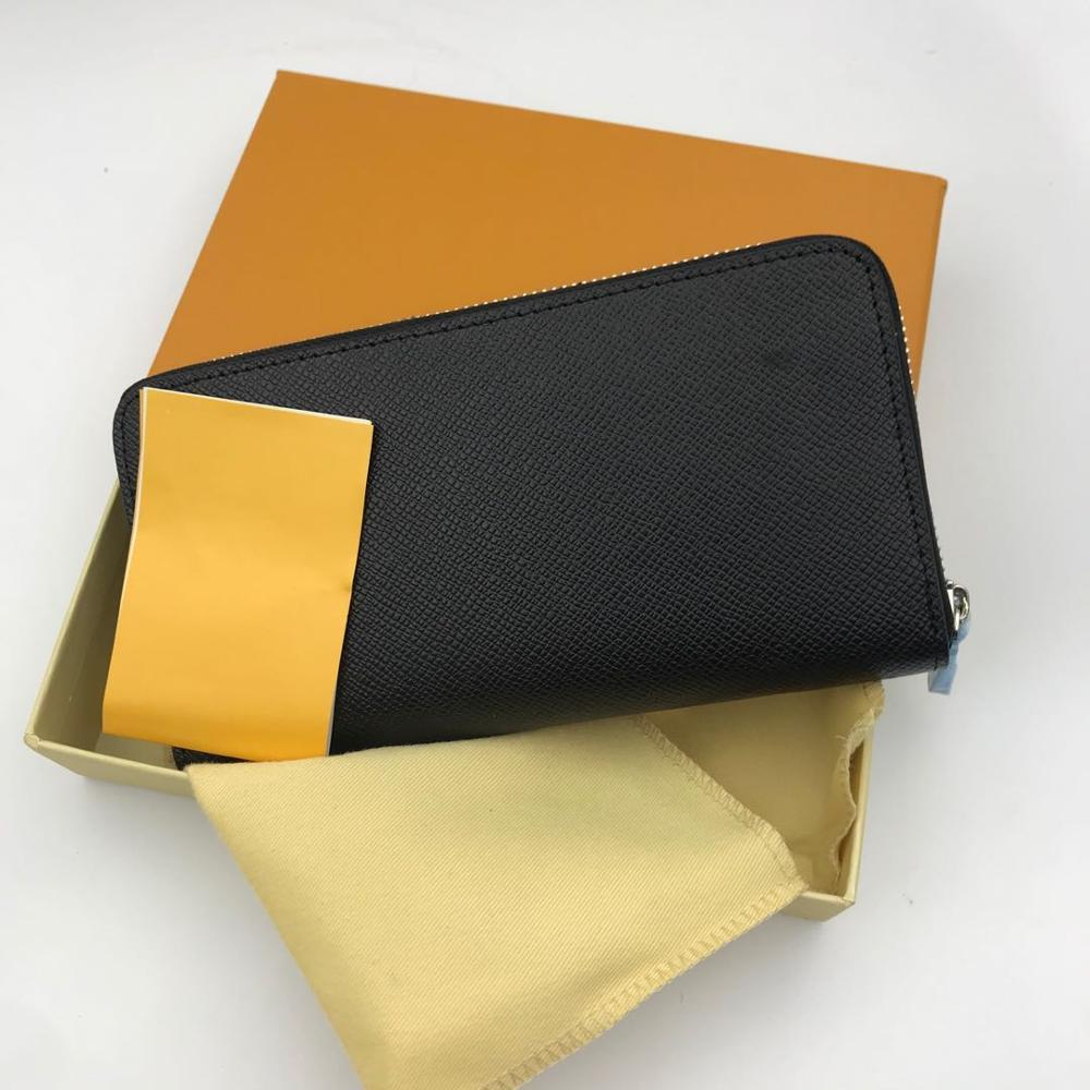 100% genuine leather wallet 2020 women's wallet high quality designer brand bag women's bag Long Wallet