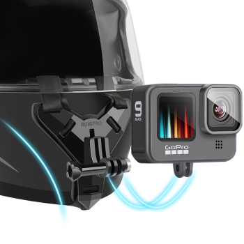 Motorcycle Helmet Chin Stand Mount Holder for GoPro Hero 9 8 7 6 5 4 3 Xiaomi Yi Action Sports Camera Full Face Holder Accessory 1